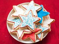 Cooking Channel serves up this Star Sugar Cookies recipe  plus many other recipes at CookingChannelTV.com