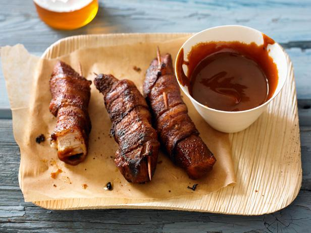 Bacon-Wrapped Pig Wings