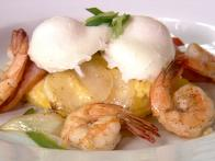 Charleston Shrimp and Grits with Tasso Blue Crab Gravy