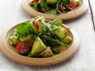 Avocado Salad with Tomatoes, Lime, and Toasted Cumin Vinaigrette