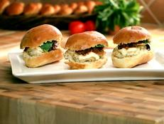Cooking Channel serves up this Italian Chicken Sliders with Tomato Jam recipe from Brian Boitano plus many other recipes at CookingChannelTV.com
