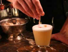 Cooking Channel serves up this Oolong Tea Infused Pisco Sour recipe  plus many other recipes at CookingChannelTV.com