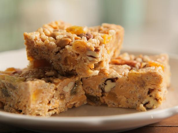 Rice Krispies Nutty Butterscotch Squares