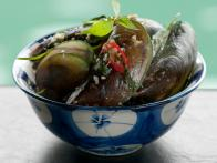 Halong Mussels, Cooked In Lemongrass Scented Coconut Milk: Con Don Nau Xa Cot Dua