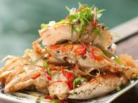 Salt and Pepper Red Crab: Cua Rang Muoi