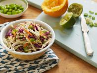Edamame and Scallion Slaw with Orange Lime...