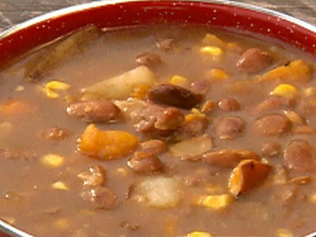 Idaho Potato and Smoked Corn Stew