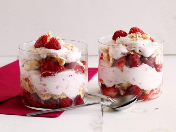Eton Mess with Strawberries and Raspberries