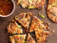 Spicy Pork and Vegetable Pancakes...