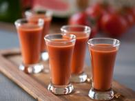 Watermelon Vodka Gazpacho