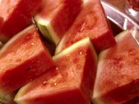 Watermelon with Rose Water