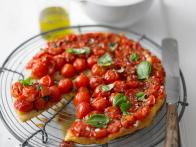Tomato and Basil Tarte Tatin
