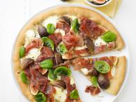 Prosciutto, Mozzarella and Fig Pizza