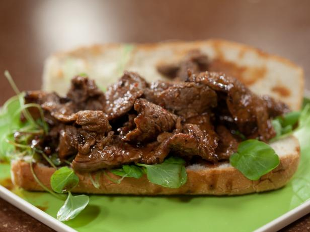 Make-ahead Meal 3 Minute Steak Hoagies with Homemade Steak Sauce