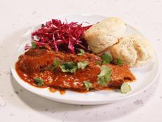 Cooking Channel serves up this Mexican Brisket and Biscuits recipe from Rachael Ray plus many other recipes at CookingChannelTV.com