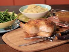 Cooking Channel serves up this French Chicken in a Pot with Drunken Jus and Mashed Camembert Potatoes recipe from Rachael Ray plus many other recipes at CookingChannelTV.com
