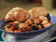 Cooking Channel serves up this Portuguese Fisherman's Shrimp and Chorizo recipe from Rachael Ray plus many other recipes at CookingChannelTV.com