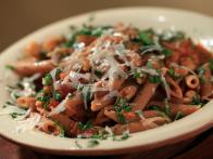 Ceci (Chickpeas) Sauce with Penne