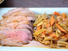 Cooking Channel serves up this Italian Roast Beef recipe from Rachael Ray plus many other recipes at CookingChannelTV.com
