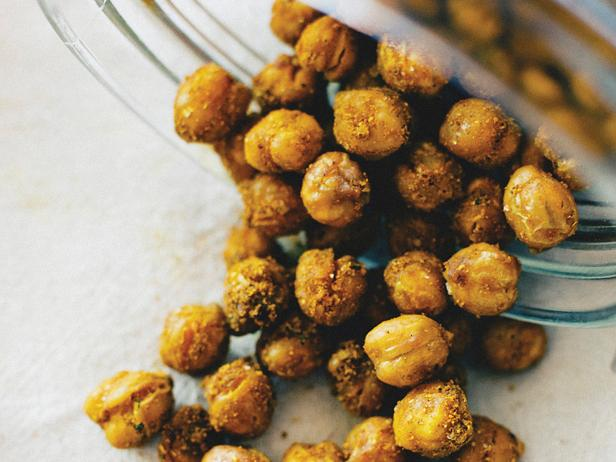 Crunchy Curried Chickpeas