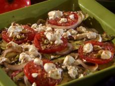 Cooking Channel serves up this Zucchini Gratin recipe from Roger Mooking plus many other recipes at CookingChannelTV.com