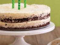 Ice Cream and Cookie Dough Layer Cake