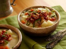German Potato and Berr Soup