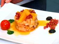 Remojon Granadino / Granadian Cod and Orange Salad with Black Olives