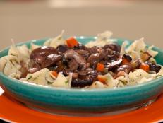 Cooking Channel serves up this Mushroom and Burgundy Stew recipe from Rachael Ray plus many other recipes at CookingChannelTV.com