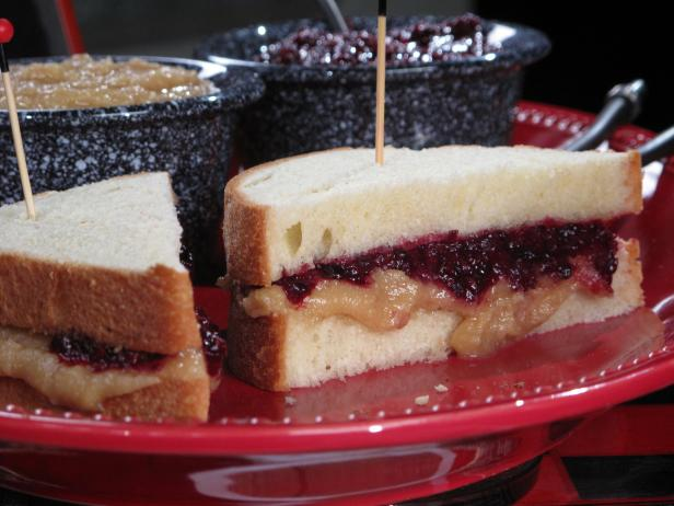 Cashew-Peanut Butter and Spicy Blackberry Jam