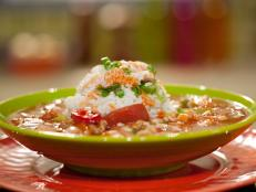 Cooking Channel serves up this Everything Gumbo recipe from Rachael Ray plus many other recipes at CookingChannelTV.com