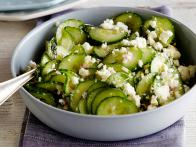 Greek Feta and Cucumber Salad