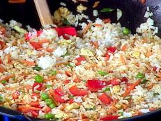 Cooking Channel serves up this Special Fried Rice recipe from Rachael Ray plus many other recipes at CookingChannelTV.com