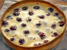 Cooking Channel serves up this Cherry Tart recipe from Laura Calder plus many other recipes at CookingChannelTV.com