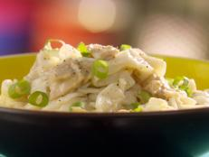 Cooking Channel serves up this Speedy Tuna Noodle Skillet recipe  plus many other recipes at CookingChannelTV.com