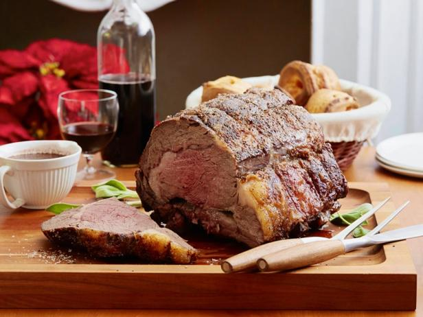 Dry-Aged Standing Rib Roast with Sage Jus