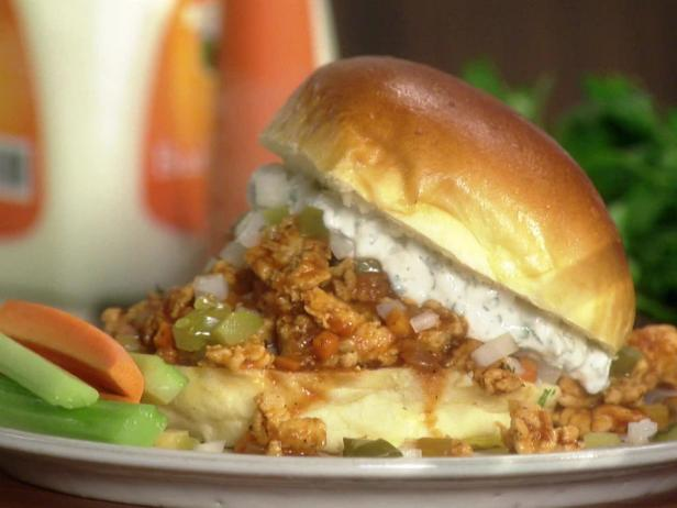 Buffalo Turkey Sloppy Joes