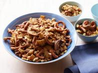 Salty-Sweet Honey-Mustard Snack Mix