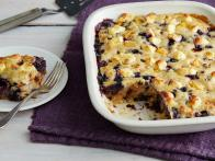 Dave Whitney's Mango, Blueberry and Coconut Cobbler