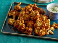 Buffalo-Style Cauliflower with Cashew-Dill...