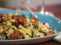 Creamy Scrambled Eggs with Dill Havarti with...