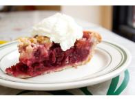 Sour Cherry Pear Pie