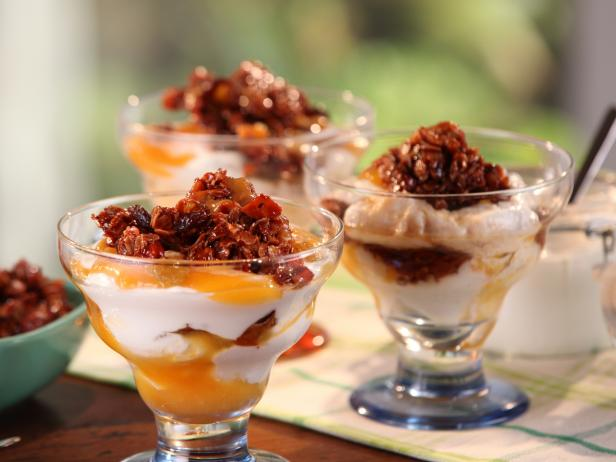 Apricot-Yogurt Parfait with California Granola