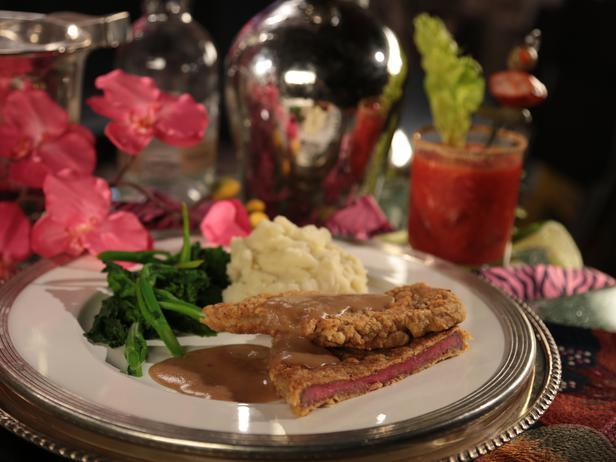 Chicken-Fried Steak with Peppered Gravy