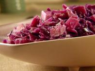 Braised Red Cabbage and Turnips