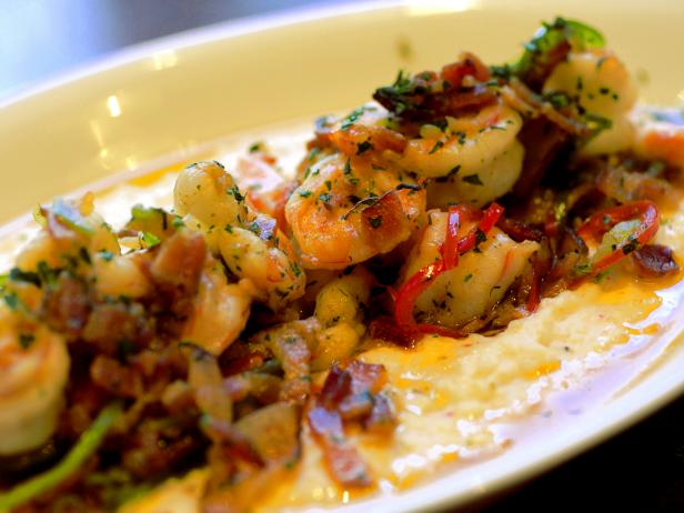 Local Three Shrimp and Grits
