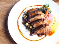 Birch and Barley's Honey Glazed Duck