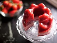 Fresh Homemade Strawberry Jello