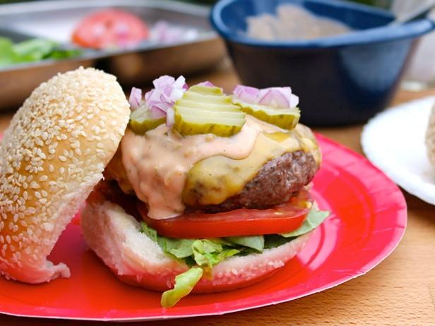 Cheeseburgers with Secret Sauce