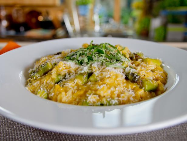 Coconut Milk Risotto with Asparagus